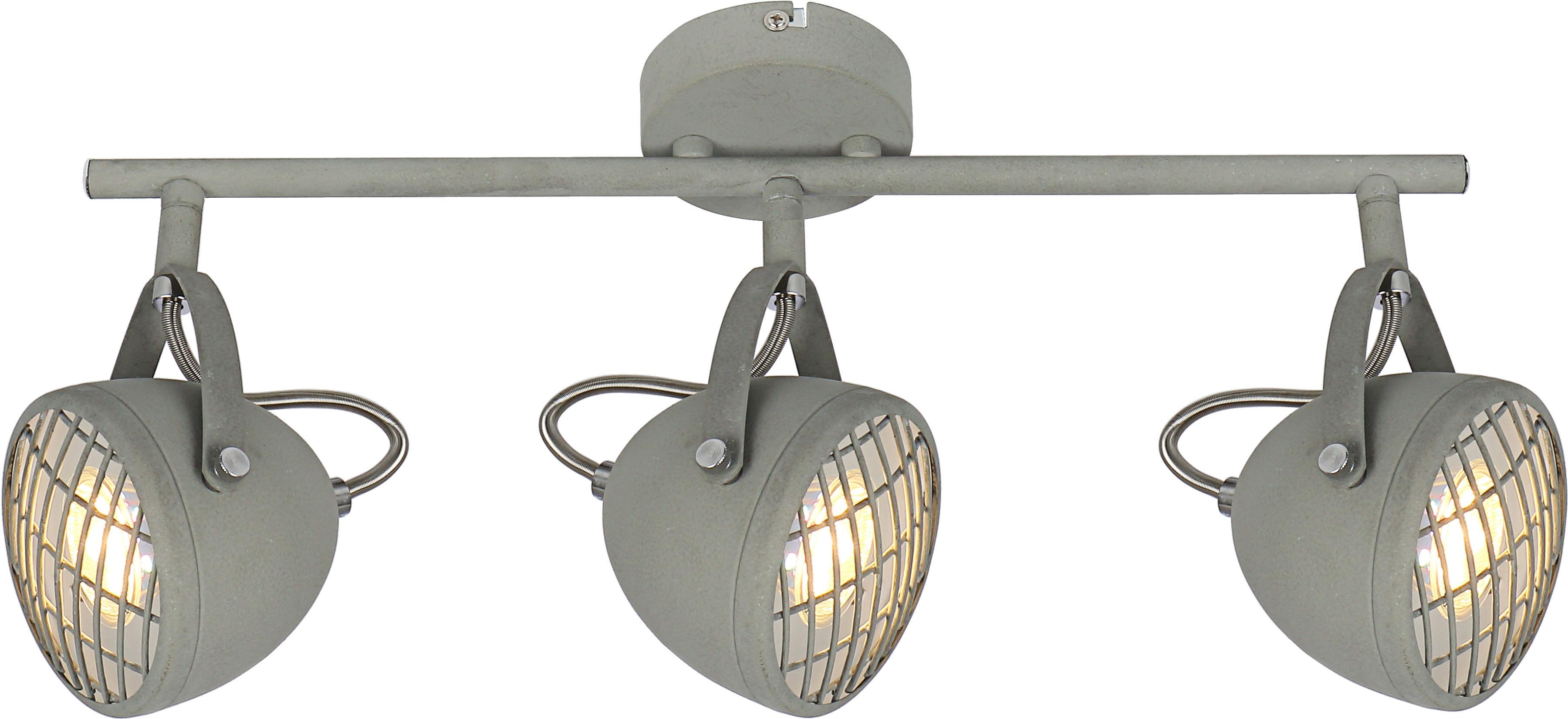 Candellux PENT 93-68064 listwa oświetleniowa betonowy szary regulacja klosza 3X50W GU10 45cm