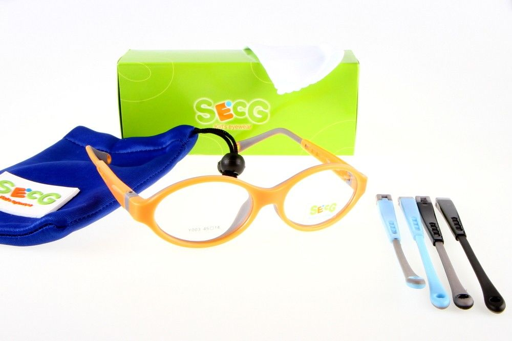 Oprawki okularowe SECG Y003 pomarańczowe