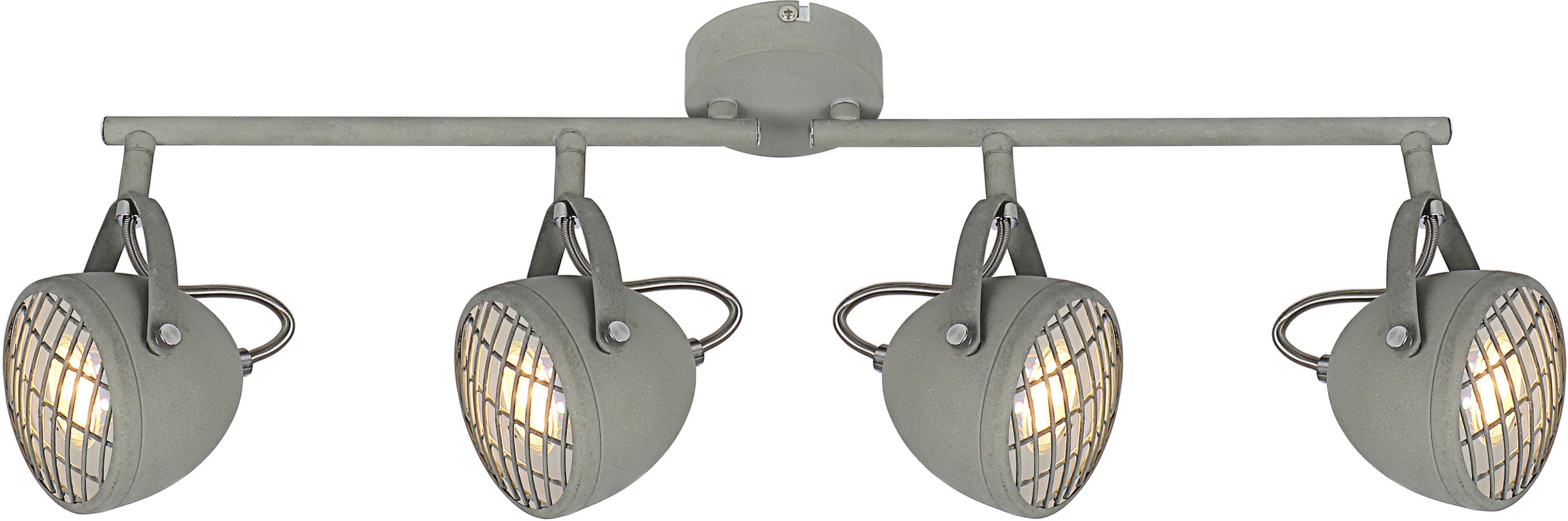 Candellux PENT 94-68071 listwa oświetleniowa regulacja klosza 4X50W GU10 betonowy szary 60cm