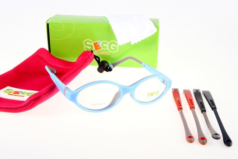 Oprawki okularowe SECG Y003 niebieskie