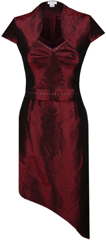 Sukienka FSU155 BORDOWY