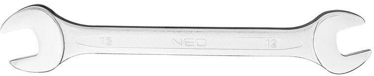 Klucz płaski dwustronny 12 x 13 mm dł.170 mm 09-812