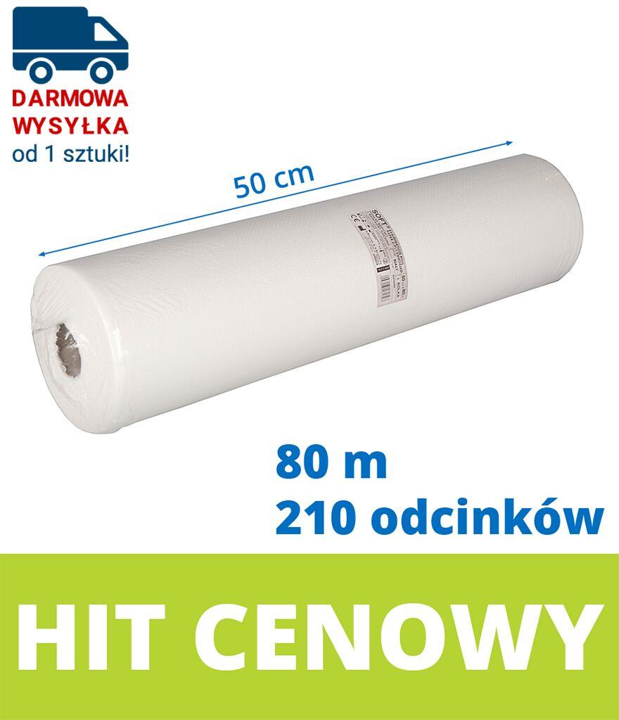 Podkład higieniczny celulozowy Nexodis SOFT w rolce 50 cm (Bournas Medical)