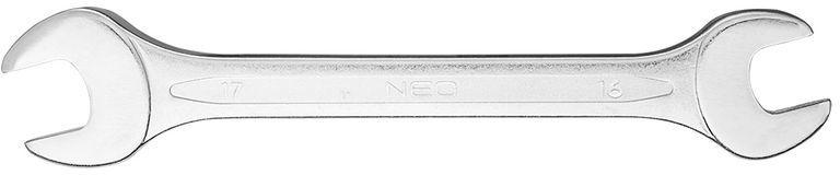 Klucz płaski dwustronny 16 x 17 mm dł.200 mm 09-816