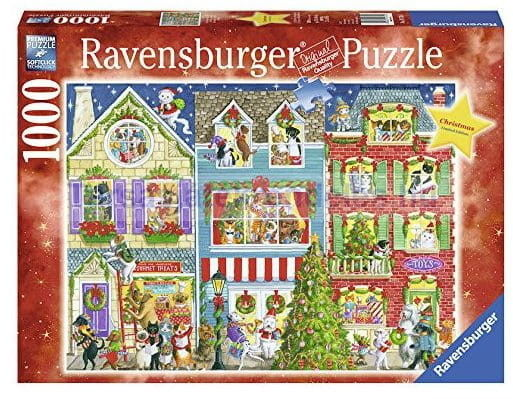 Puzzle Ravensburger 1000 - Świąteczny nastrój, Christmas mood