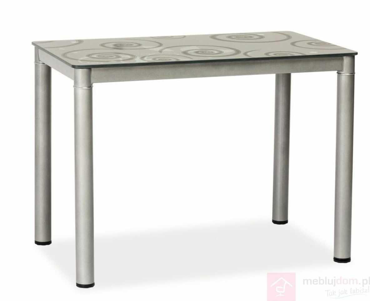 Stół DAMAR Signal Szary, 60x80 cm [Wysyłka 2020-05-20]