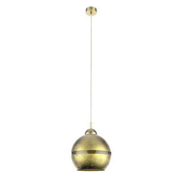 Lampa sufitowa szklana tekstura LUX GOLD 116 złoty