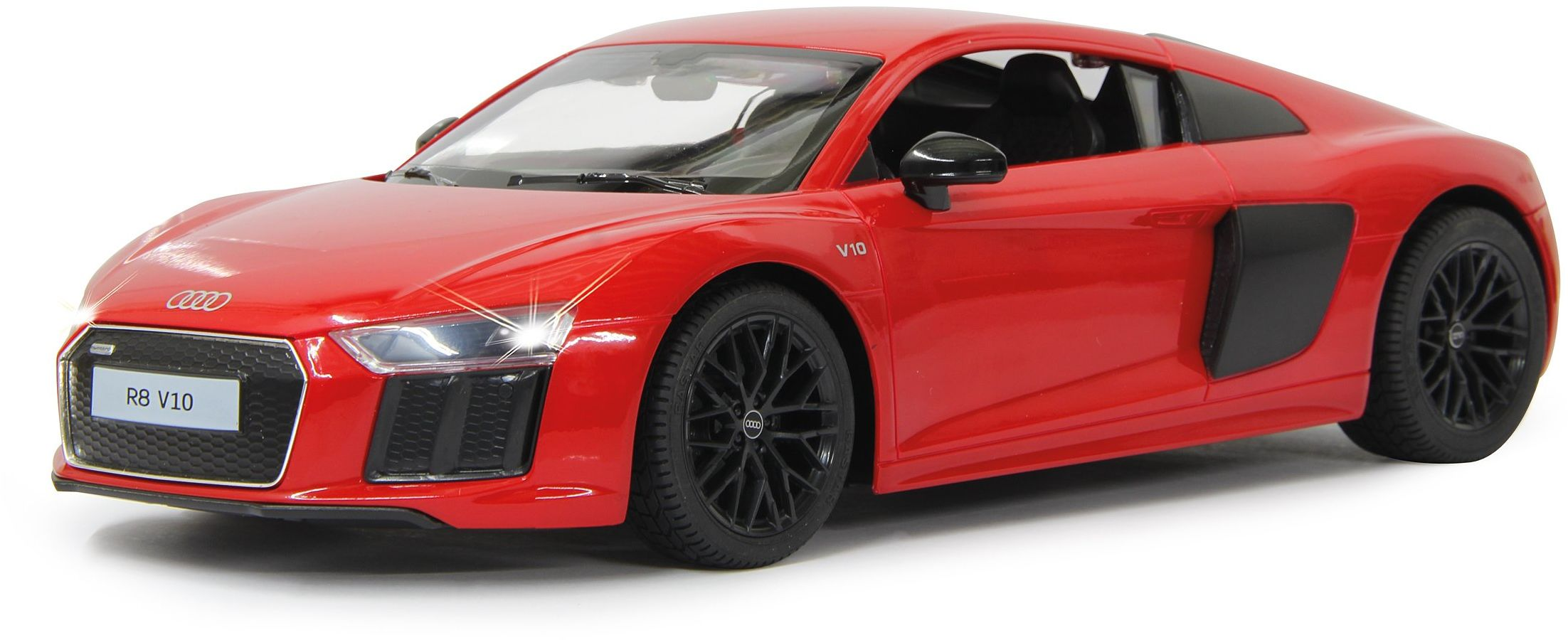 """Jamara 405096 1:14 """"Czerwony Audi R8"""" model"""