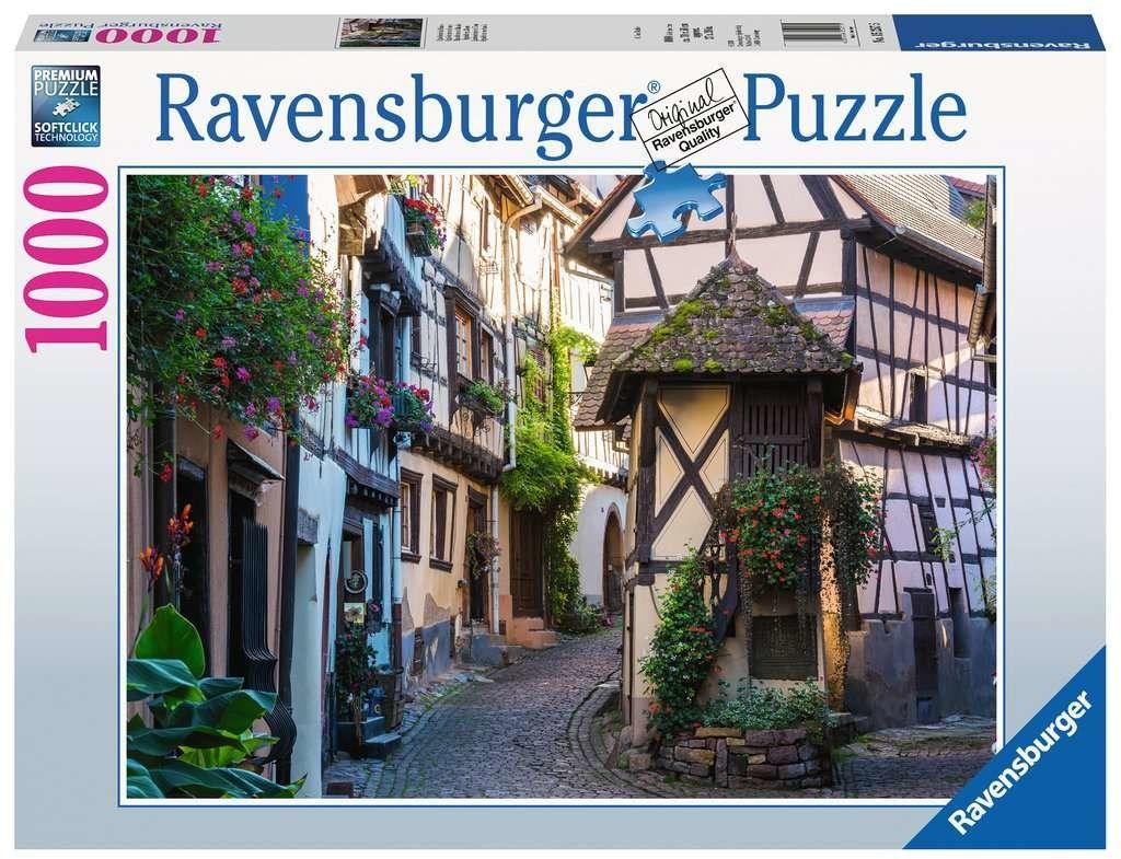 Puzzle Ravensburger 1000 - Eguisheim w Alzacji, Francja, Eguisheim im Elsass