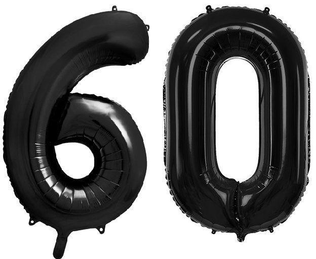 Balony foliowe 60 czarne 86cm FB1M-60-010