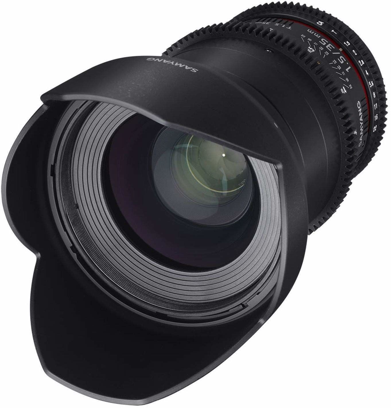 Samyang 35 mm T1.5 VDSLR II ręczny obiektyw wideo do kamery Nikon DSLR