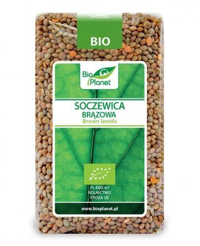Soczewica brązowa BIO 400g Bio Planet