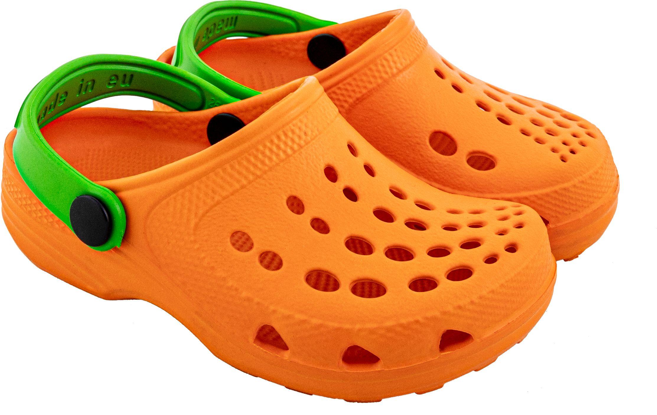 Zetpol klapki kroksy dziecięce EVA orange