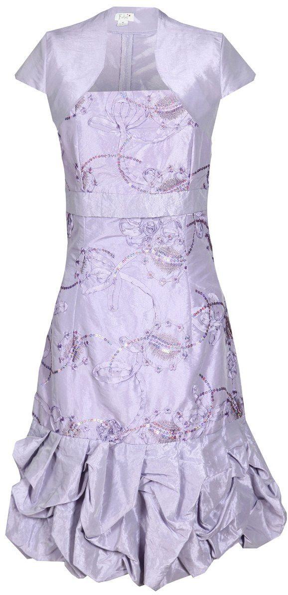 Sukienka FSU157 FIOLETOWY