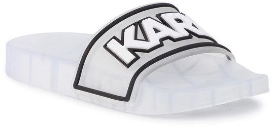 KARL LAGERFELD Klapki KL80710 Biały
