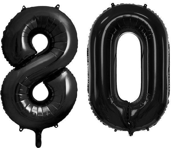 Balony foliowe 80 czarne 86cm FB1M-80-010