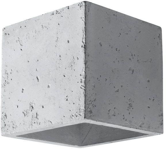 Kinkiet betonowy QUAD SL.0487 1xG9 szary