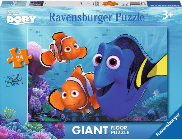 Puzzle Ravensburger 24 - Gdzie jest Dory, Finding Dory