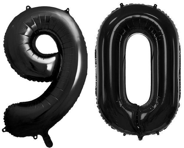 Balony foliowe 90 czarne 86cm FB1M-90-010
