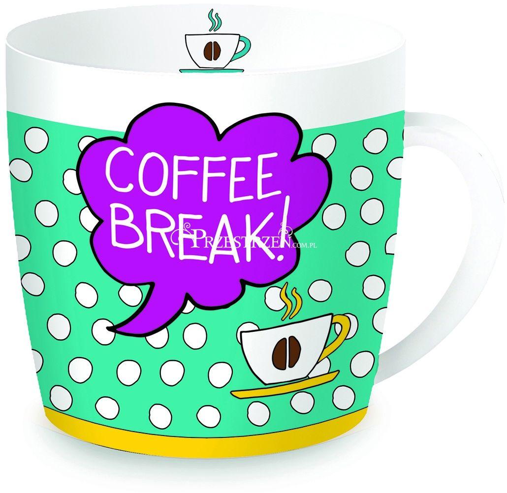 KUBEK PORCELANOWY W PUSZCE - Coffee Break (217 COBE)