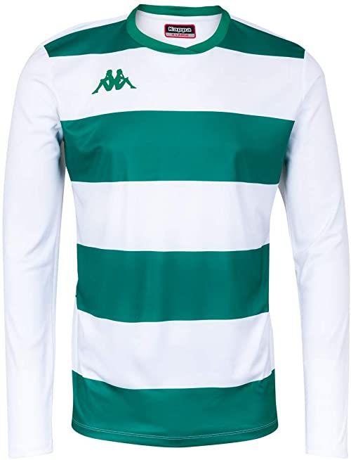 Kappa Casernhor LS koszulka piłkarska z długimi rękawami, męska XXXL biały/zielony