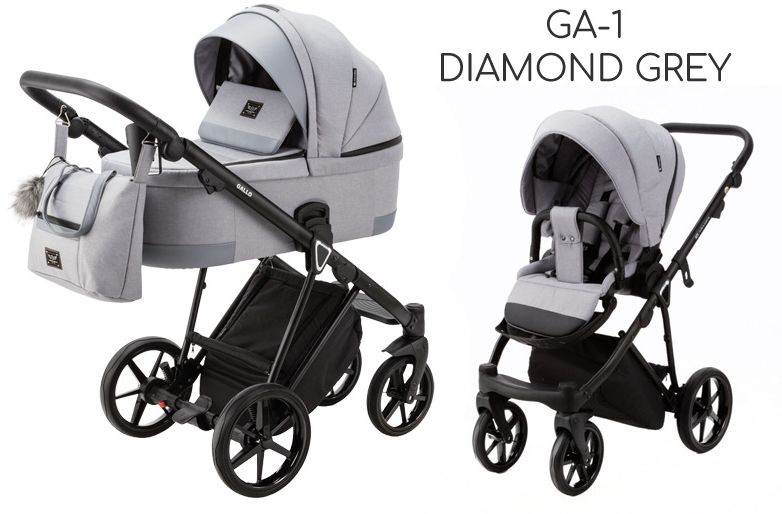 ADAMEX GALLO 2w1 DOSTAWA GRATIS! ODBIÓR OSOBISTY! RABATY! - GA-1 Diamond Grey