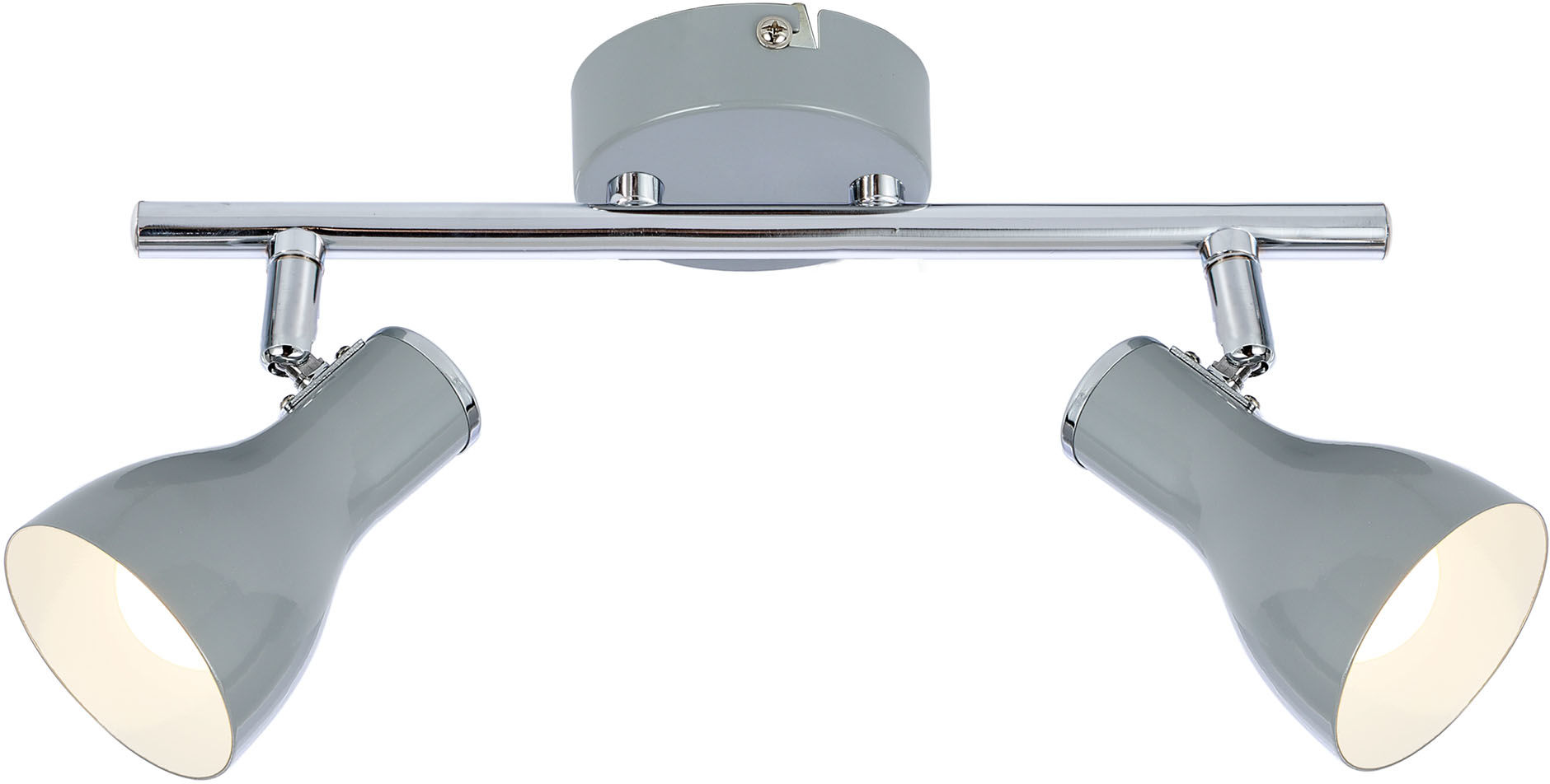Candellux JULIE 92-66626 oprawa oświetleniowa spot szary 2X40W regulacja klosza E14 36cm