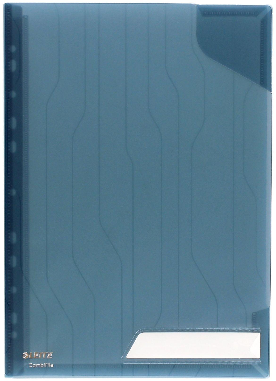 Folder A4/20k przeźroczysty niebieski (3) Combifile