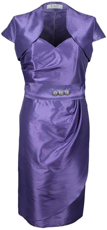Sukienka FSU179 WRZOSOWY