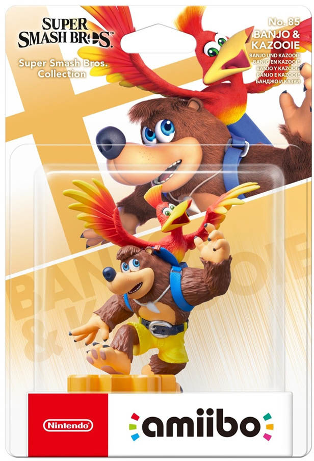Banjo & Kazzoie No. 85 / Super Smash Bros. Collection / Figurka Amiibo / Warszawa