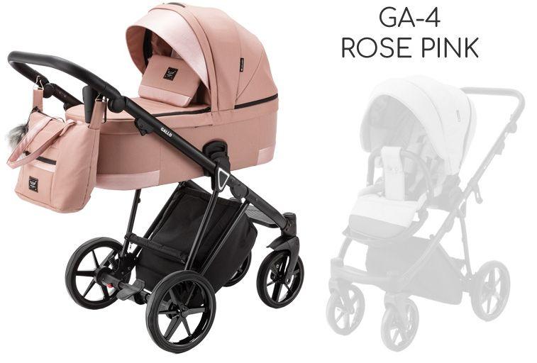 ADAMEX GALLO 2w1 DOSTAWA GRATIS! ODBIÓR OSOBISTY! RABATY! - GA-4 Rose Pink