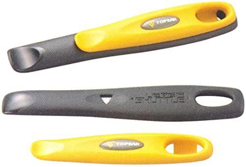 Topeak Zestaw łyżek do opon Shuttle Lever 1.2, żółty/czarny, 15 x 1,65 x 2,6 cm