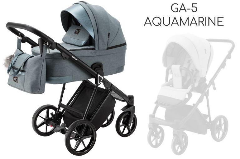 ADAMEX GALLO 2w1 DOSTAWA GRATIS! ODBIÓR OSOBISTY! RABATY! - GA-5 Aquamarine