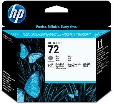 Głowica HP 72 / C9380A Grey Photo Black do drukarek (Oryginalna)