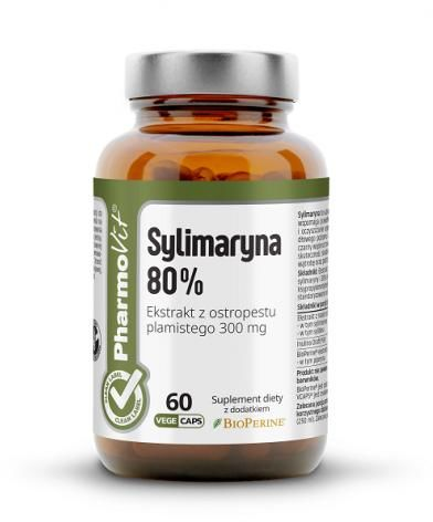 Sylimaryna 60 kapsułek 30,18g - Pharmovit (clean label)