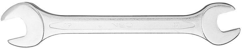 Klucz płaski dwustronny 17 x 19 mm dł.220 mm 09-817