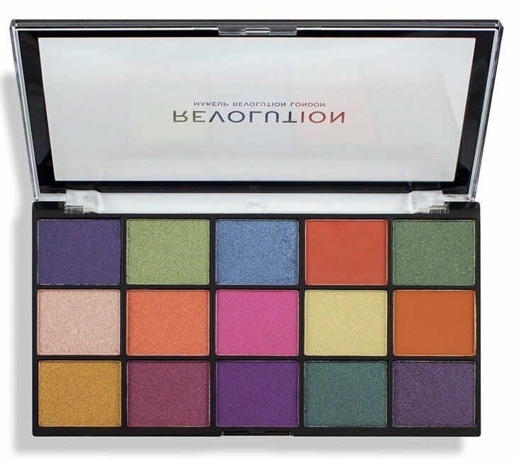 Makeup Revolution Re-Loaded Palette Passion for Colour Paletka cieni do powiek