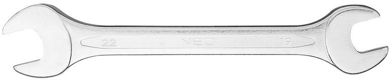 Klucz płaski dwustronny 19 x 22 mm dł.234 mm 09-819