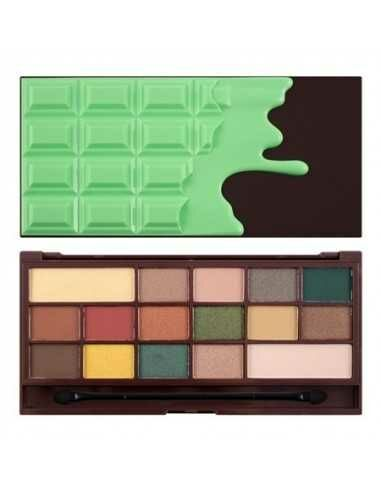Makeup Revolution Mint Chocolate paleta 16 cieni