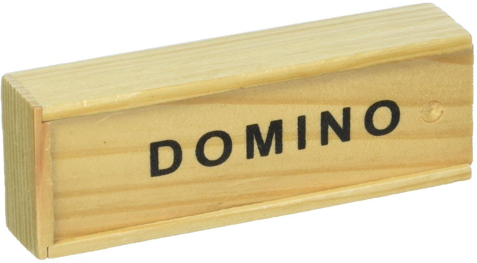 goki 15449 gra domino w drewnianym pudełku