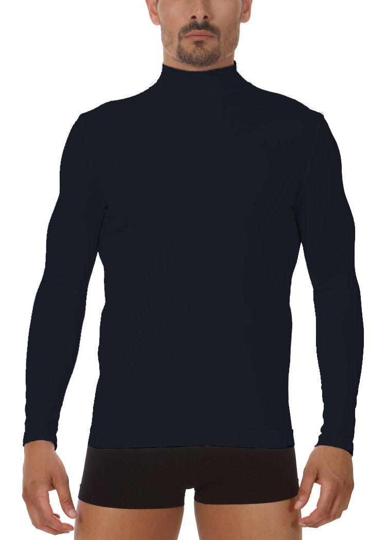 Półgolf męski z długim rękawem termoaktywny, włoski M6