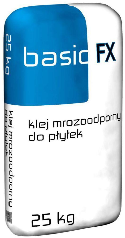 Klej mrozoodporny do płytek 25 kg BASIC FX