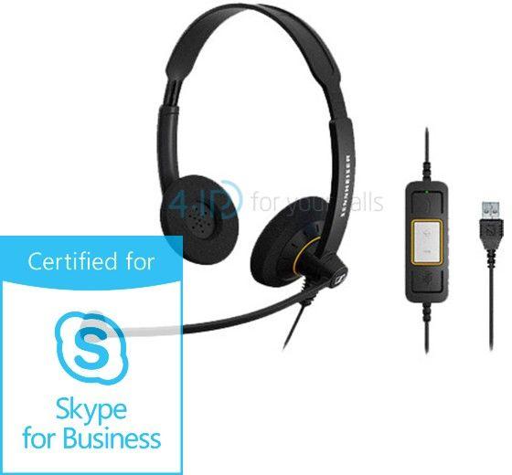 Sennheiser SC 60 USB ML słuchawka z mikrofonem do PC (złącze USB-A)