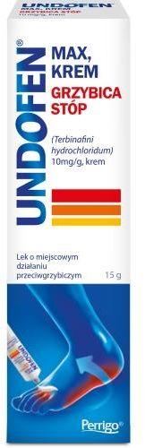 Undofen Max 10 mg/g krem 15g