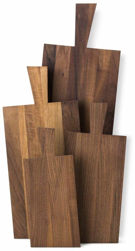 Continenta Deska do krojenia olejowana z drewna orzecha włoskiego o działaniu antybakteryjnym, 70 x 23 x 2 cm