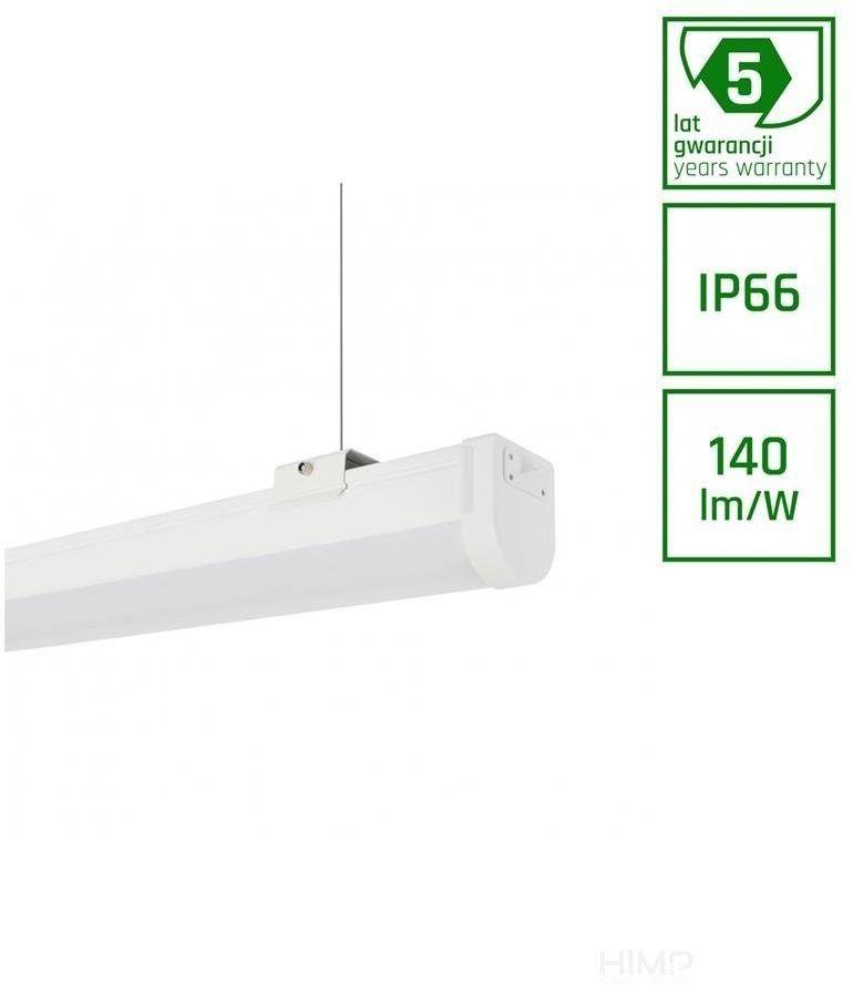 Limea Slim 2 60W 1.7m IP66 8400lm WW 3000K 5 lat gwarancji bez kabla zasilającego IK08