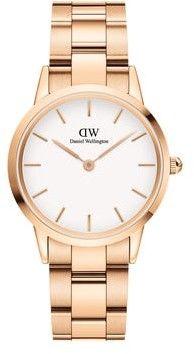 DANIEL WELLINGTON ICONIC LINK WHITE DW00100211-DARMOWA DOSTAWA-GWARANCJA-VICTORYTIME.PL