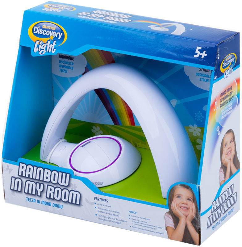 Uncle Milton Dumel Discovery Light - Projektor Lampka Tęcza w moim domu 2063