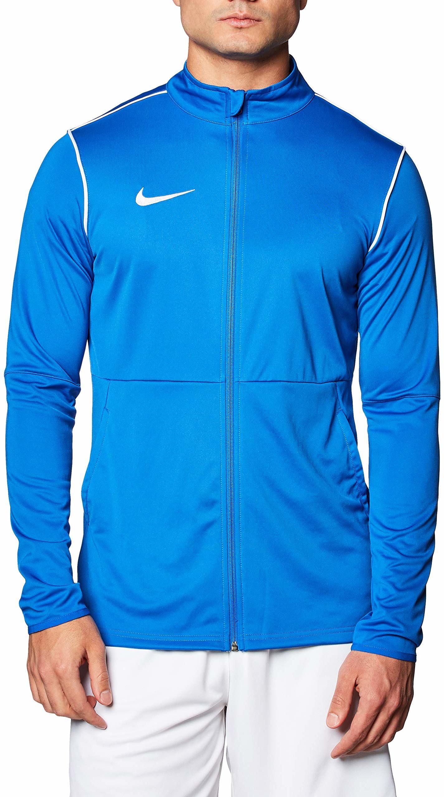 Nike męska kurtka sportowa M NK DRY PARK20 TRK JKT K, królewski niebieski/biały/biały, S