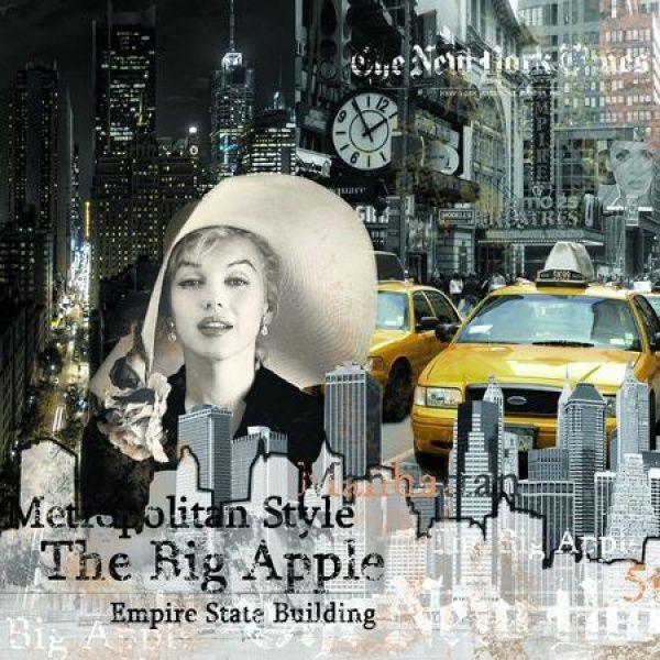 SERWETKI PAPIEROWE - Marilyn Monroe New York